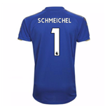 2017-18 Leicester City Home Shirt (Schmeichel 1)