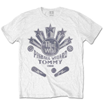 The Who Men's Tee: Pinball Wizard Flippers (Retail Pack)
