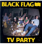 Vynil Black Flag - Tv Party