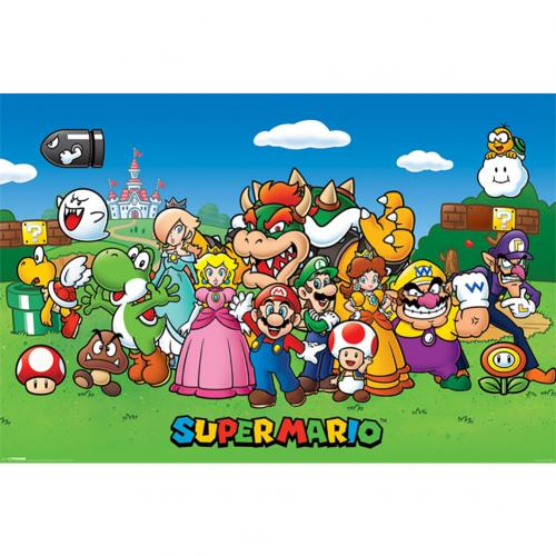 Super Mario Poster Characters 164