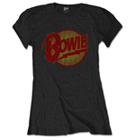 David Bowie Ladies Tee: Diamond Dogs Vintage