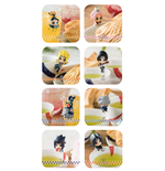 Naruto Shippuden Ochatomo Series Trading Figure 5 cm Konoha Break Time Assortment (8)