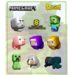 Minecraft Squishme Anti-Stress Figures 6 cm Display (24)