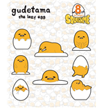 Gudetama Squishme Anti-Stress Figures 6 cm Display (24)