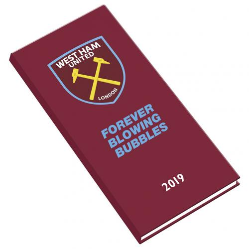 West Ham United F.C. Pocket Diary 2019