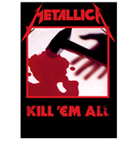 Metallica Textile Poster: Kill 'em all