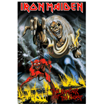 Iron Maiden Textile Poster: Number Of The Beast