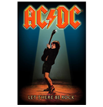 AC/DC Textile Poster: Let There Be Rock