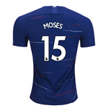 2018-2019 Chelsea Home Nike Football Shirt (Moses 15) - Kids