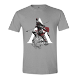 Assassin's Creed Odyssey T-Shirt Character Charge Grey