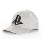 PlayStation Baseball Cap Black Logo