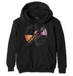Pink Floyd Unisex Pullover Hoodie: Machine Greeting Orange