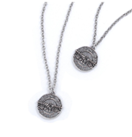 Guns N' Roses Necklace & Bracelet Set: Disc Logo