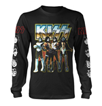 Kiss Long Sleeves T-shirt Love Gun Chrome