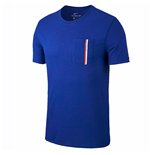 2018-2019 Chelsea Nike Travel Tee (Blue)