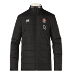 2018-2019 England Rugby Thermoreg Padded Jacket (Black)