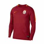 2018-2019 Galatasaray Nike Squad Drill Training Top (Pepper Red)