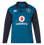 2018-2019 Ireland Alternate LS Classic Rugby Shirt
