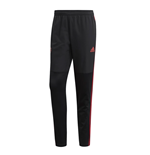 2018-2019 Man Utd Adidas Warm Pants (Black)