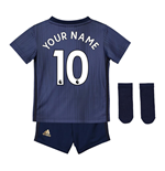 2018-2019 Man Utd Adidas Third Baby Kit (Your Name)