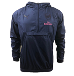 2018-2019 Arsenal Puma THERMO-R VENT Half Zip Training Top (Peacot)
