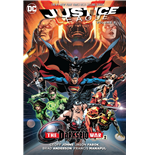 DC Comics Comic Book Justice League The Darkseid War Part 2 by Geoff Johns english