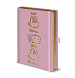 Pusheen Premium Notebook A5 Eat. Sleep. Eat. Repeat.