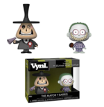 Nightmare Before Christmas VYNL Vinyl Figures 2-Pack Mayor & Barrel 10 cm