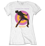 Queen Ladies Tee: Fearless