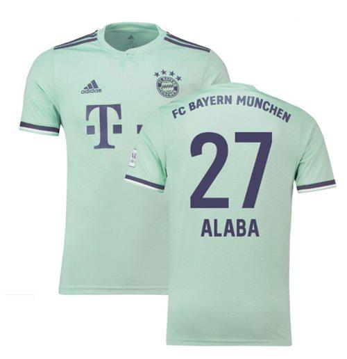 buy popular 56713 85807 2018-19 Bayern Munich Away Shirt (Alaba 27) - Kids