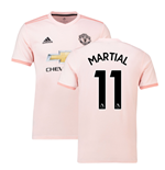 2018-2019 Man Utd Adidas Away Football Shirt (Martial 11)