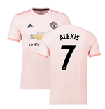 2018-2019 Man Utd Adidas Away Football Shirt (Alexis 7)
