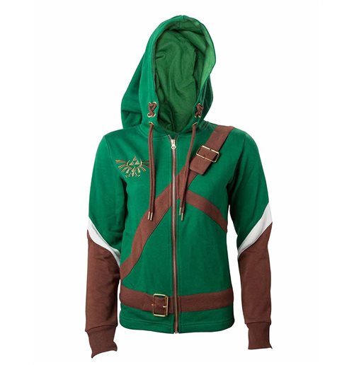 NINTENDO: The Legend Of Zelda - Zelda Link Cosplay Women's Hooded Sweatshirt