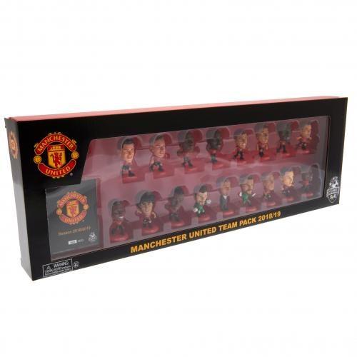 Manchester United F.C. SoccerStarz Team Pack