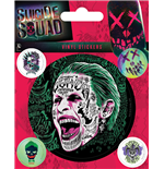 DC Comics: Suicide Squad - The Joker Stickers Set (12,5X10 Cm)