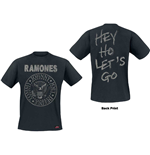 Ramones Men's Tee: Seal Hey Ho (Back Print)