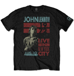 John Lennon Men's Tee: Live in NYC