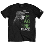 John Lennon Men's Tee: Imagine Peace