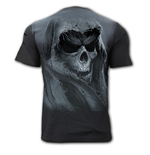Tattered Skull - Distressed Spray On T-Shirt