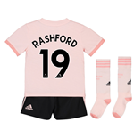 2018-19 Man Utd Away Mini Kit (Rashford 19)
