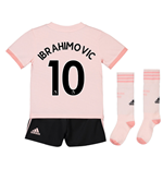 2018-19 Man Utd Away Mini Kit (Ibrahimovic 10)