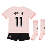 2018-19 Man Utd Away Mini Kit (Giggs 11)