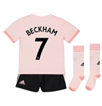 2018-19 Man Utd Away Mini Kit (Beckham 7)
