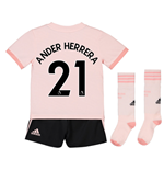 2018-19 Man Utd Away Mini Kit (Ander Herrera 21)