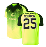 2018-2019 Celtic Third Football Shirt (Moravcik 25)