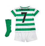 2018-2019 Celtic Home Little Boys Mini Kit (Larsson 7)