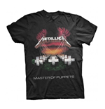 Metallica T-shirt Mop European Tour 86'