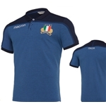 2019 Italy Pique Player Rugby Polo shirt