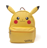 POKEMON Pikachu Shaped Backpack with Ears, Female, Yellow