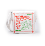 TEENAGE MUTANT NINJA TURLES (TMNT) Pizza Box Messenger Bag, Unisex, White